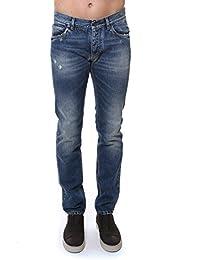 Dolce E Gabbana Homme G6XPLDG8U24S9001 Bleu Coton Jeans