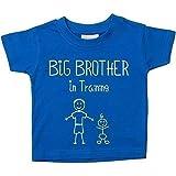 Großer Bruder in Training Blau T-Shirt Baby Kleinkind Kinder Erhältlich in Größen von 0-6 Monate bis 14-15 Jahre Neu Baby Bruder Geschenk - Blau, Blau, 3-4 Years