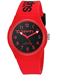 Superdry Analog Black Dial Unisex Watch - SYG164RB