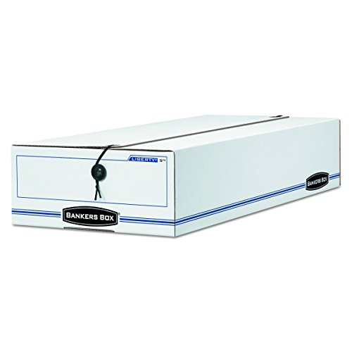 Bankers Box - Storage File, Check Size, 9-1/2