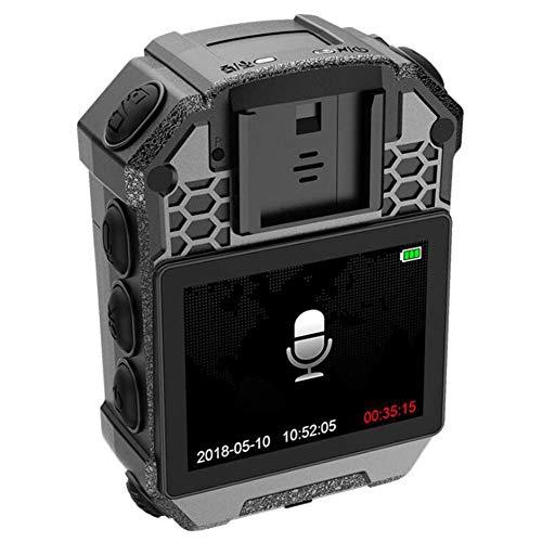 Police Body Camera 1296HD Nachtsichtgerät für Strafverfolgungs-Videorecorder, 2-Zoll-Display, IP65 wasserdicht, 128 GB Speicher, Laserpositionierung - Polizei-videorecorder