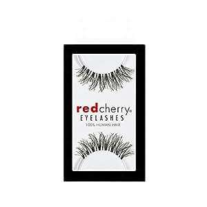 Red Cherry 100% Human Hair Eyelashes #WSP wispies