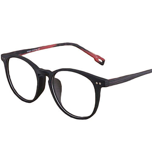 Juleya Holzbrillen für Männer Frauen - Mode Brillen Brillengestell 1229YJJ16