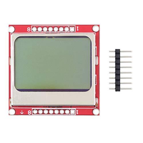 Module LCD WEIHAN Rouge et Vert à Faible Alimentation pour Nokia 5110 Adaptateur de rétroéclairage Blanc PCB Plus récent Module à Cristaux liquides 84 * 48 84x84