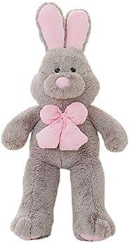 Henreal Peluche, peluche coniglietto, bambola coniglio 100 cm, coniglio peluche gigante per adulti e regali pe