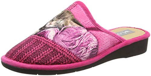 Lotus Nellie, Chaussons femme Pink (Pink Multi)