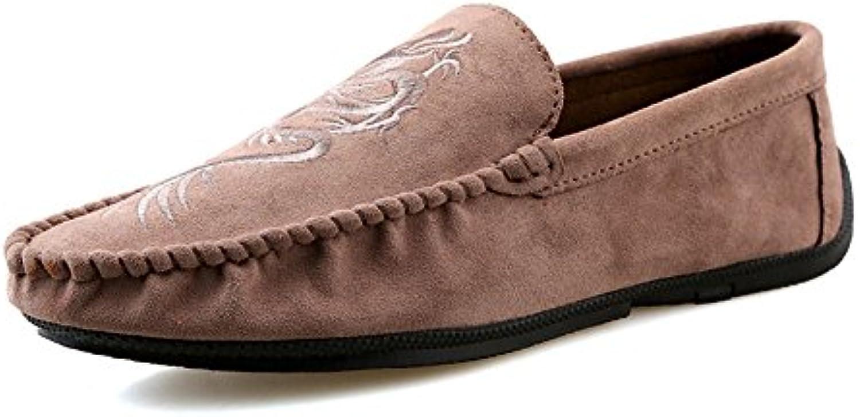 Mocasines para Caminar Zapatos Casuales para Hombres de Verano Juegos de Tendencia Juvenil Zapatos para los pies...