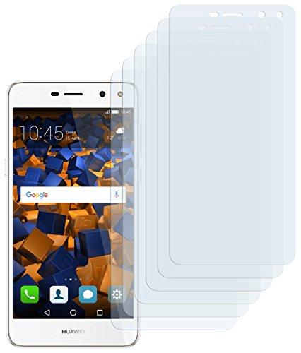 mumbi Schutzfolie kompatibel mit Huawei Y6 2017 Folie klar, Bildschirmschutzfolie (6x)