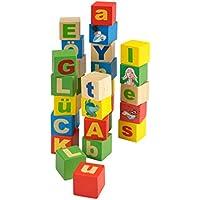 beluga Spielwaren 61010 Tabaluga Holzbausteine Buchstaben