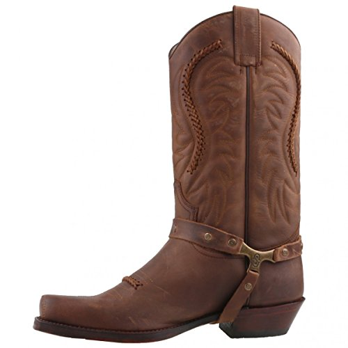 Sendra Cowboystiefel 3434 Braun Braun