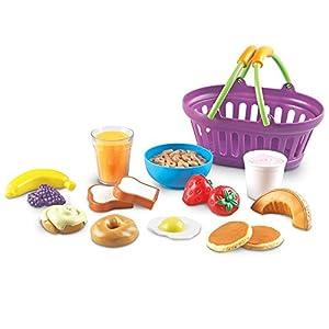 Learning Resources- Cesta del Desayuno New Sprouts, Color (LER9730)
