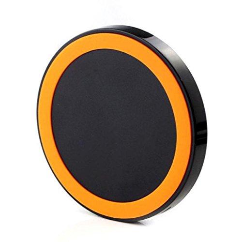 Orange 8x10 Bereich (Prevently Schnelles drahtloses Ladegerät für Samsung Galaxy S7 / S7 Edge Wireless Ladegerät Lade Pad Lade Pad Wireless Ladegerät Docking (Orange))