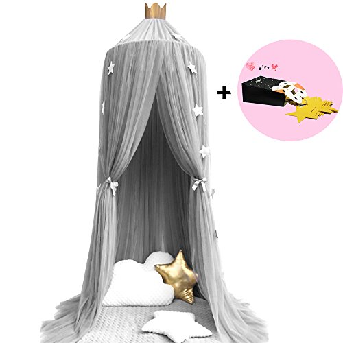 Baby Baldachin Kinderzimmer Schöner Baldachin Betthimmel Mückenschutz für Einzel- oder Doppelbetten Zum Moskitonetz Bett Sunhel
