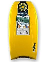 Tabla de bodyboard core Raven 101.6 cm/101 cm amarillo