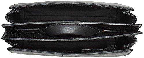 Calvin Klein Jeans Shari Snake Small Handtasche, Schwarz