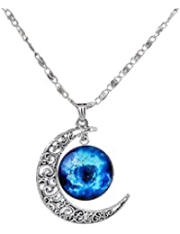 Eucraft Handmade Long Pendant Necklace for Girls and Womens Gift 30 inch LsF6nr2niN