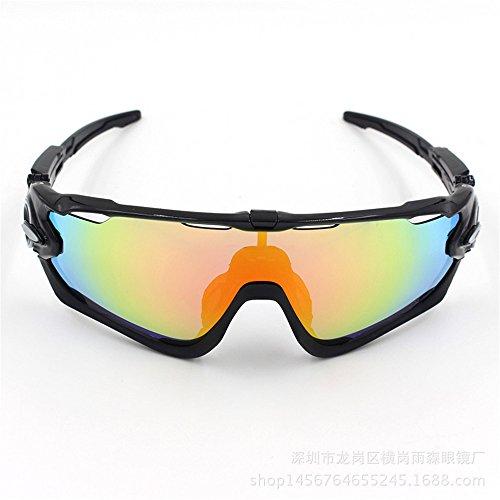 YHDD Radfahren Brille Fahrrad Farbwechsel Brille Erwachsene Outdoor Brille Geeignet für Outdoor-Radsportliebhaber. (Farbe : Grün)
