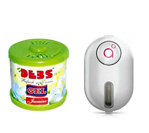 Debonair Combo - Debs 100gm Premium Car/Home/Office Air Freshener Gel - Jasmine& Godrej Click 9 ml - Peta  available at amazon for Rs.387