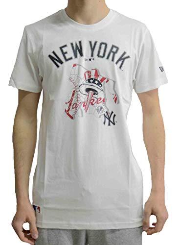 5429ea415 New Era MLB NEW YORK YANKEES Location T-Shirt, Größe:XXL