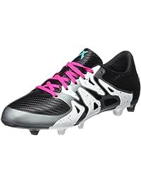 adidas X 15.3 FG/AG J, Botas de Fútbol Unisex infantil