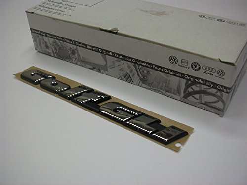 Volkswagen Original VW Golf GLI Rear Trunk Boot Badge Emblem Nos - 1H6853687AGZ10 Vw Gli-emblem
