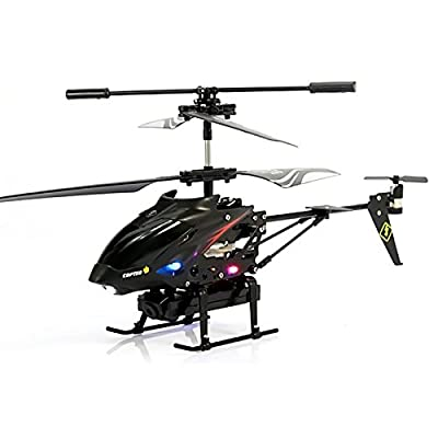 S977 Mini RC Remote Control Gyroscope GYRO 3.5 Channel Helicopter Aircraft Drone Model Toy with LED Light 0.3MP Video Camera