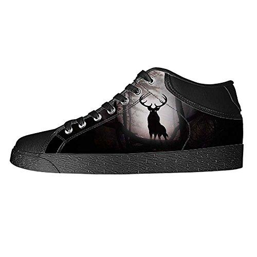 Dalliy kunst hirsch Kids Canvas shoes Schuhe Footwear Sneakers shoes Schuhe E