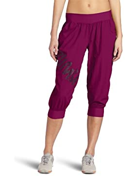 Zumba Fitness® Cargo Feelin It Capri Pants - Pantalones para mujer, color plum, talla Medium