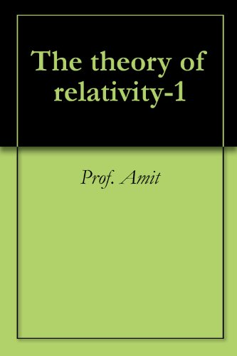 The theory of relativity-1