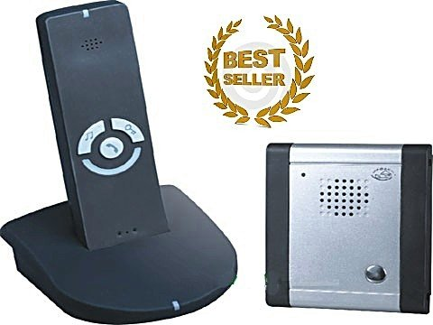 B8A- WEATHERPROOF WIRELESS PORTABLE DOORPHONE ACCESS ENTRY CONTROL INTERCOM SYSTEM WITH ELECTRIC DOOR RELEASE FUNCTION