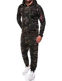 MT Styles ensemble pantalon de sport + sweat-Shirt jogging survêtement TA-01