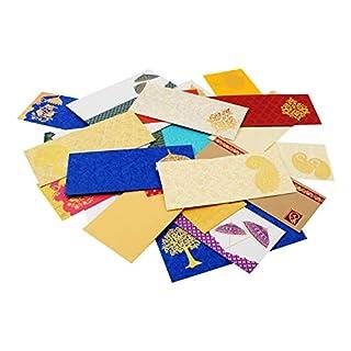 AMBA HANDICRAFT Gift envelopes/Money envelopes/Money Cover/shagun / Indian/Wedding Cover/Cash Gift/Diwali envelopes/Wedding Decorations/Wedding Cards/New Year envelopes. AHCV001