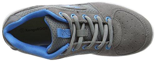 KangaROOS Kj-40 Jungen Low-Top Grau (semi grey/blue 244)