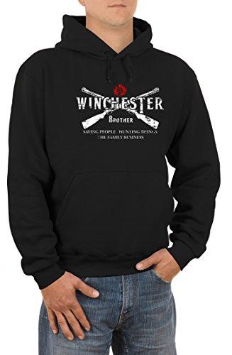winchester-2-guns-herren-kapuzen-sweatshirt