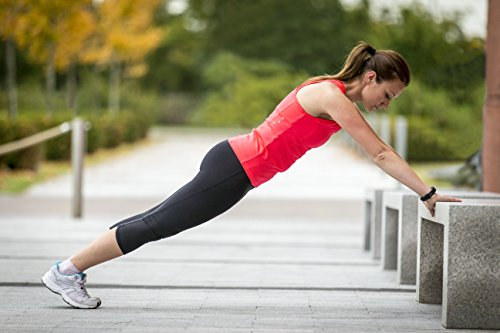 Garmin vívosmart HR Fitness-Tracker - integrierte Herzfrequenzmessung am Handgelenk, Smart Notifications, Schwarz, XL (18-22,4 cm) -