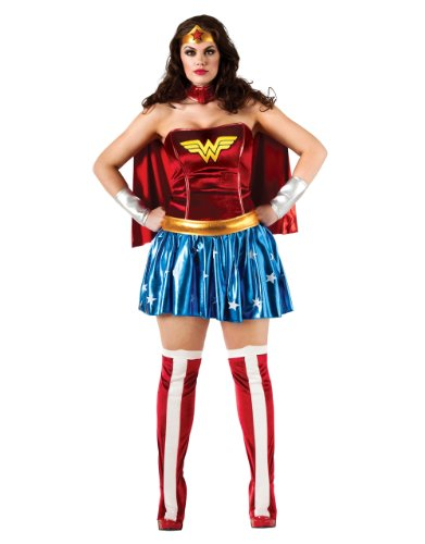 Wonder Woman Costume fort Adults. Plus Size