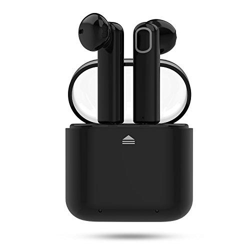 Auriculares Inalámbricos Bluetooth Sonido Estéreo Cancelación de Ruido IPX6  Resistente al Agua con Caja de Carga 7f0832687b0d