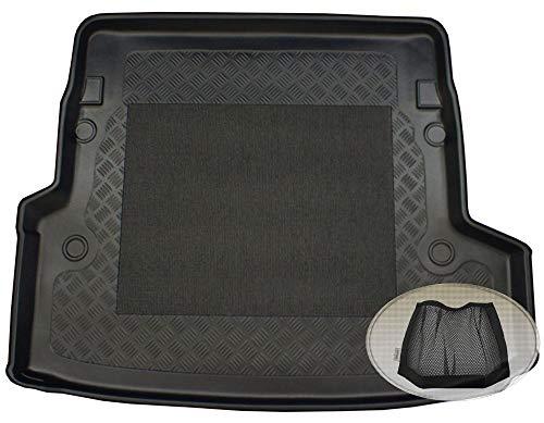 ZentimeX Z3029824 Antirutsch Kofferraumwanne fahrzeugspezifisch + Klett-Organizer (Laderaumwanne, Kofferraummatte)