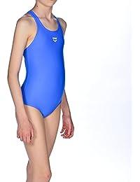 ares5Arena Chica Sport dinamo–Bañador, niña, arena Mädchen Sport Badeanzug Dynamo, pix blue, 152