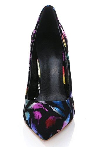 TDA , Sandales Compensées femme Multicolore