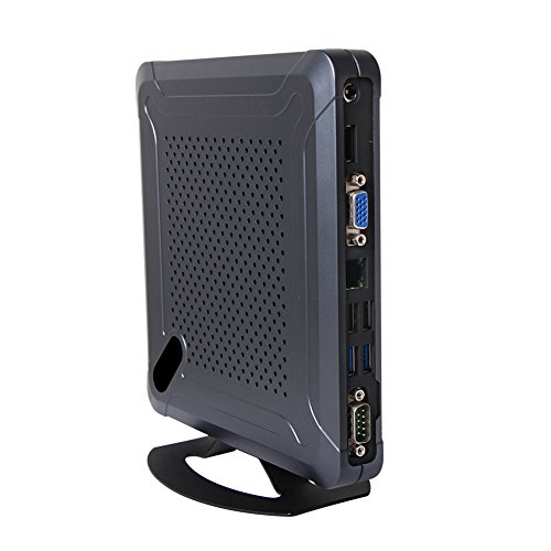 Desktop Computer Windows 10/ Linux Ubuntu Mini PC Intel Core I5 3317U with 8 USB 1 COM WiFi 3G/4G Bluetooth Support Barebone System Partaker C7