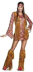 BOLAND 83664adultos Disfraz hippie Hottie, Womens, 40/42