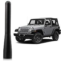 بديل هوائي Stubby يناسب ملحقات Jeep Wrangler JK JL 2007-2019 | 4 بوصات