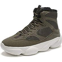 JHHXW Zapatillas, Zapatos de Plataforma de Malla, Zapatos de Alta Top, sección Delgada