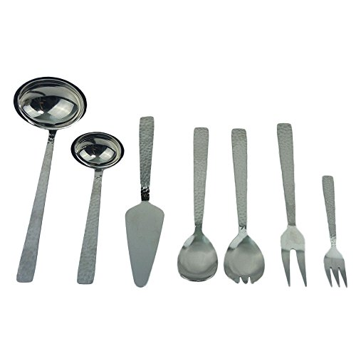 13 tlg Service Besteck Set Haushaltshelfer Küchenhelfer Servierbesteck
