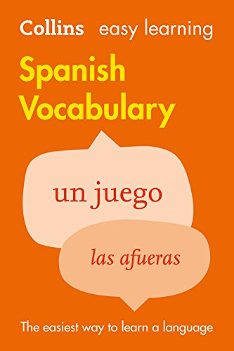 Easy Learning Spanish Vocabulary (Collins Easy Learning Spanish)