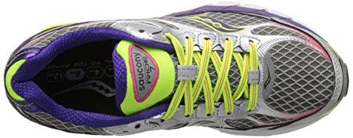 Saucony Ride 7 Women's Scarpe Da Corsa Silver/Purple/Citron