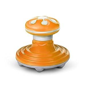 Handheld Vibrieren Massager mit 12 Knetmassageköpfen, Batterie oder USB Power Full Body Portable Massager, Linderung der Schulter, Füsse,Arme, Rücken, Abdomen, Beine, Fuß oder Muskelspannung