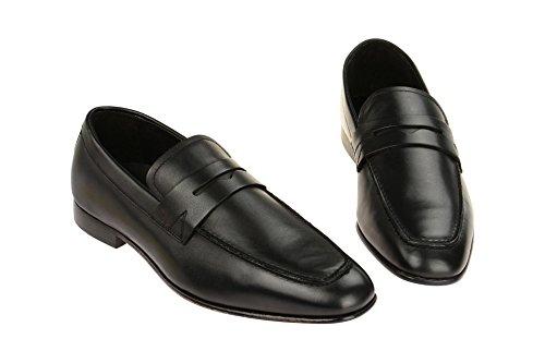 Gordon & Bros Enzo 623026 Herrenschuhe Herren Businessschuhe, Mokassins, Slipper, Halbschuhe, Anzugsschuhe, Derby Schuhe, Blake Black Grey