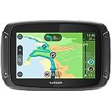 TomTom Rider 420 Navigationsgerät (Cleveres Display, Karten-Updates, Europa 48 Länder, Traffic-Update, Radarkameras, Freisprechen) schwarz